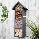 Bee and Insect House, Bee Hotel, Bug Box, in Urban Slate