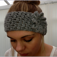 Crochet Headband Earwarmer Baby To Adult
