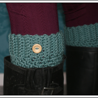 Textured Boot Cuffs,Boot Toppers.
