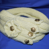 Knitted Snood Yellow