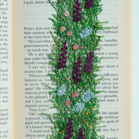 Hedgerow Bookmark