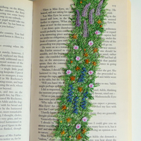 Cottage Garden bookmark