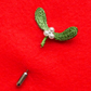 Mistletoe pin or brooch