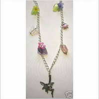 FAIRY LADYBIRD-FLORAL Necklace