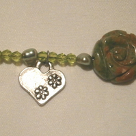 Unakite Blessings Bracelet