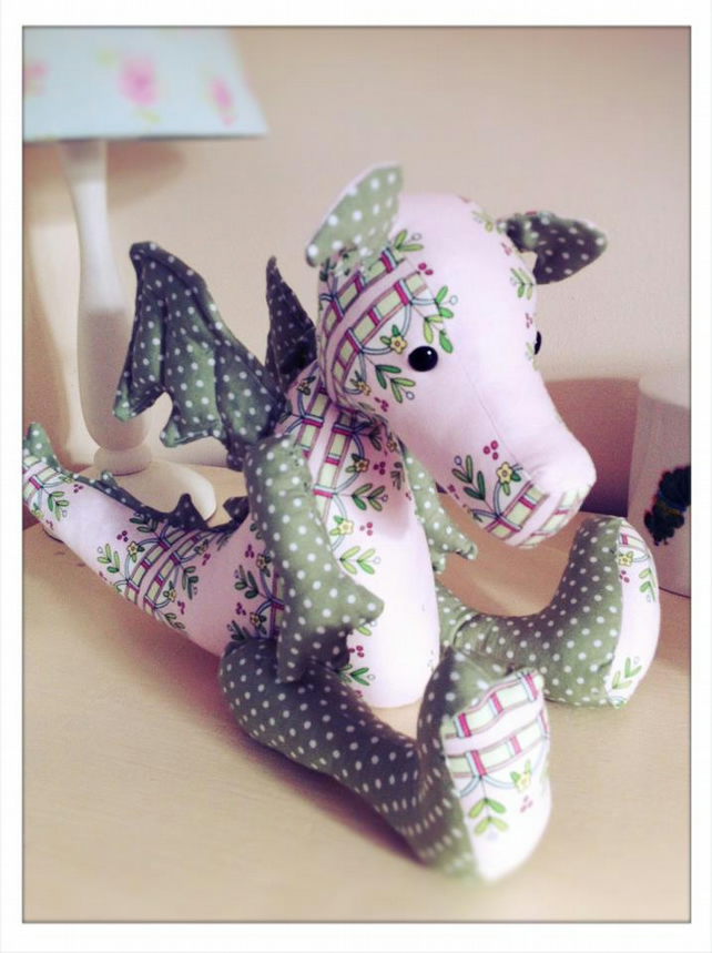 Jointed Dragon Sewing Pattern Folksy