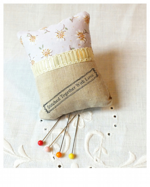 Pin cushion sewing room craft room