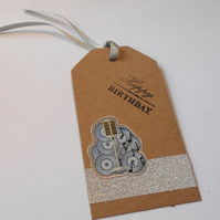 Music Gift tag