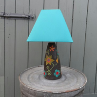 Pottery Lamp