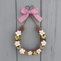 Hand Decorated Horseshoe