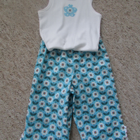Girls pants and top set unique item. Fits 4-5 years old. FREE POSTAGE