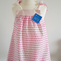 Girls summer dress. Age 12 months. Free postage to UK
