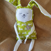 Easter fabric bunny. Free postage to UK mainland