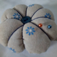 Pretty hand made padded pin cushion