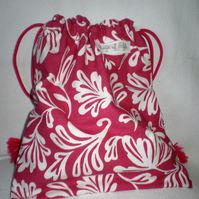 Storage Bag, Nursery Storage Bag, Draw String  Bag - SALE Price 12.00  was 15.00