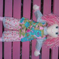 Hand made rag doll Milly