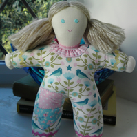 Hand made Pipsqueak Patchie rag doll Seren