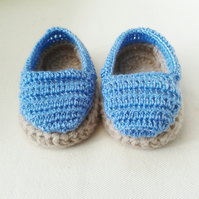 9-12 months baby espadrilles, baby booties, baby gift, baby accessories, sandals
