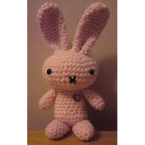 Pretty Bunny amigurumi in pink dress | Käsityö, Amigurumit | 495x495