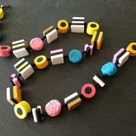 Liquorice Allsorts Necklace