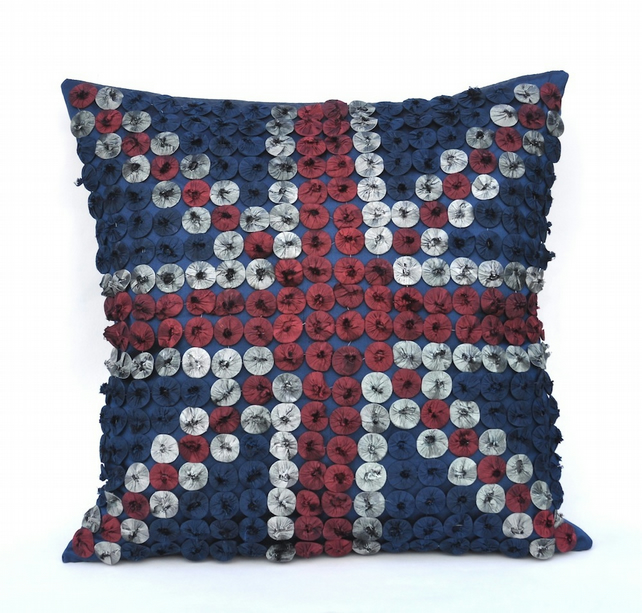 Hand-Made Union Jack Cushion
