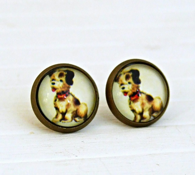 Cute Dog Earrings