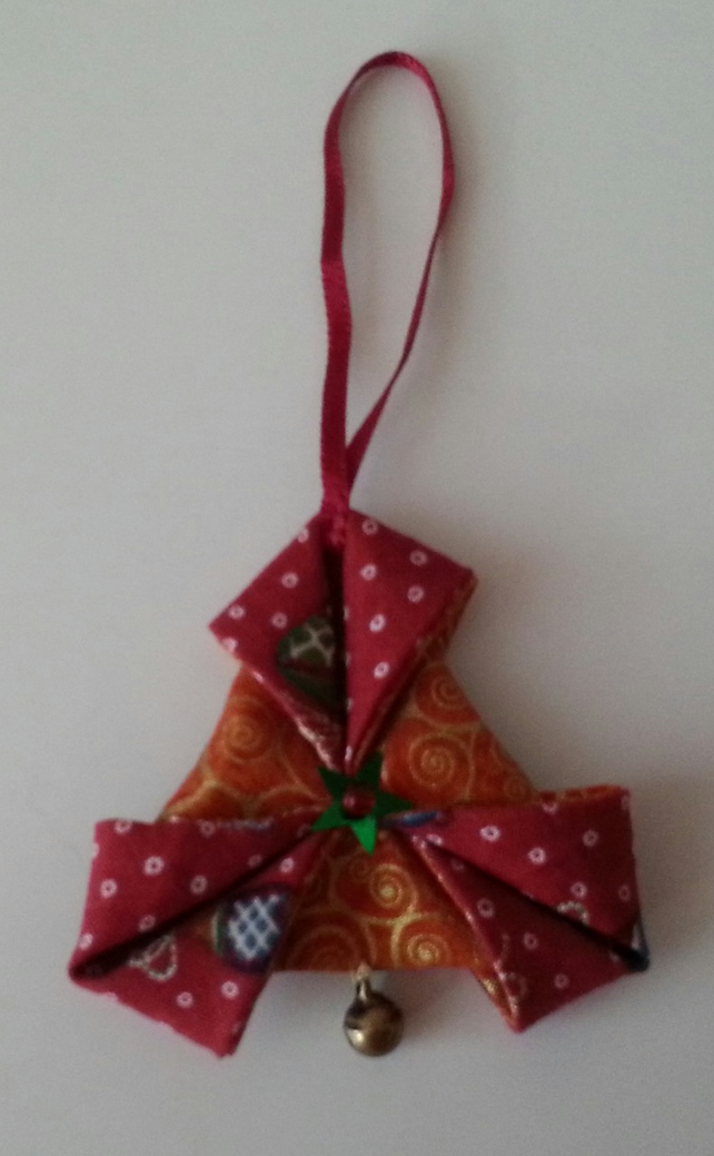 Folded Star - Christmas Tree Decoration