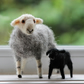 Needle Felted Herdwick Sheep and Lamb