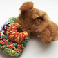 Needle Felted Airedale Terrier Brooch