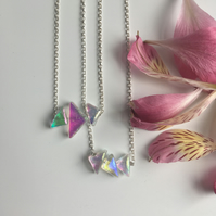 3 Piece Spectrum Necklace- extra small!