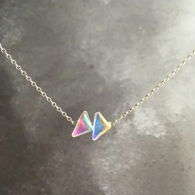 2 Piece Mini Spectrum Necklace