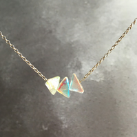 3 Piece Mini Spectrum Necklace