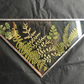 Large Fern Glass Pennant