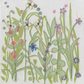 Flower Garden card - free shipping