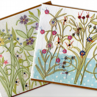 Pair of Thank you cards