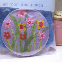 Meadow flowers mirror