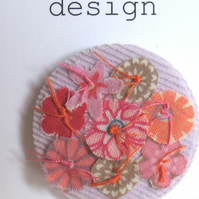Flowers brooch