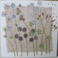 hedgerow blank card