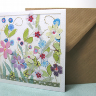 Thank you Flower Garden  card