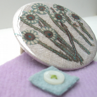 'Hedgerow' Pocket Mirror