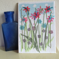 Summer time meadow miniature