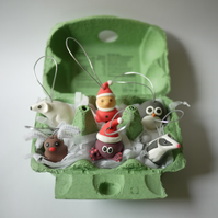Mix 'n' Match Box of Christmas Tree Decorations (6)