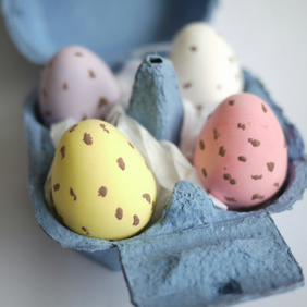 Giant Speckled Egg Ornaments