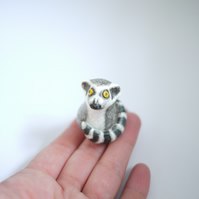 Ring Tailed Lemur Ornament