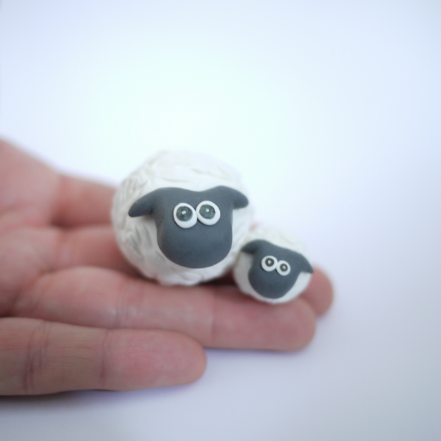 Mother's Day Sheep Ornament