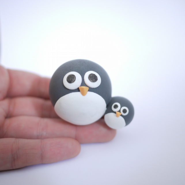 Mother's Day Penguin Ornament