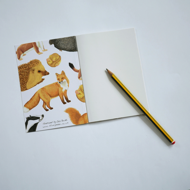 British Mammals Notebook