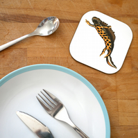 Great Crested Newt Coaster