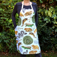 British Reptiles and Amphibians Apron