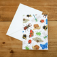 Illustrated British Invertebrates Card